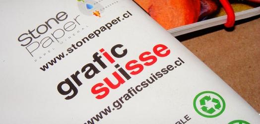 Grafic Suisse en alianza con Stone Paper